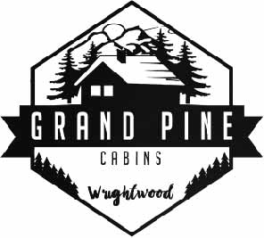 click to view our website. Grand Pine Cabins